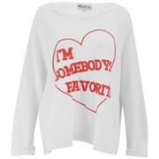 Wildfox Women's Somebody's Favourite Harbor Hoody - White
