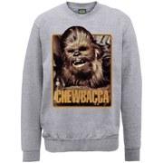 Star Wars Chewie Sweatshirt - Heather Grey