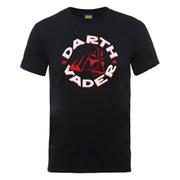 Star Wars Men's Darth Vader Badge T-Shirt - Black