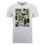 Star Wars Men's Millennium Falcon Montage T-Shirt - Heather Grey