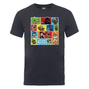 Star Wars Men's Comic Drawing Montage T-Shirt - Charcoal