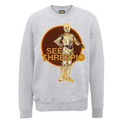 Star Wars See Threepio Sweatshirt - Heather Grey