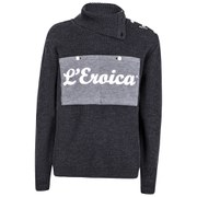 Santini Eroica Ribbed Wool 2015 Heritage Series Sweater - Grey