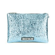House of Holland Women's Cuki Patch Clutch - Blue