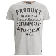 Produkt Men's GMS 21 Crew Neck T-Shirt - Light Grey Melange