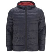 Jack & Jones Men's Baron Puffer Jacket - Navy Blazer