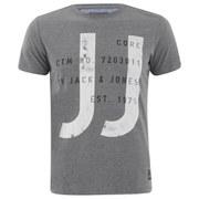 Jack & Jones Men's Core Every T-Shirt - Grey Melange