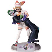DC Collectibles DC Comics Batman Bombshells Joker and Harley Quinn 12 Inch Statue