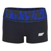 Женские спортивные шорты Myprotein FT; Синяя структура