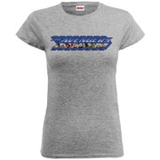 Marvel Women's Avengers Age of Ultron Classic Logo Blue T-Shirt - Heather Grey
