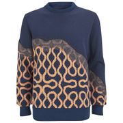 Vivienne Westwood MAN Men's Needlepunch Sweatshirt - Navy Mix