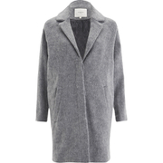 Selected Femme Women's Sandrias Wool Coat - Dawn Blue