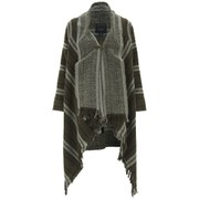 Maison Scotch Women's Warm Wool Blend Poncho - Multi