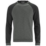 rag & bone Men's Long Sleeve Raglan Top - Grey