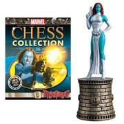 Marvel X-Men Mystique Black Bishop Chess Piece with Collector Magazine