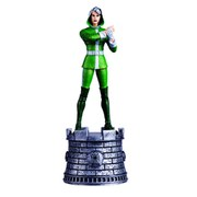 Marvel X-Men Rogue White Bishop Chess Piece with Collector Magazine