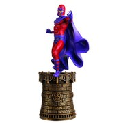 Marvel X-Men Magneto Black King Chess Piece with Collector Magazine