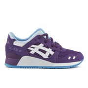 Asics Women's Gel-Lyte III (Rugged Winter Pack) Trainers - Purple/White