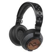 The House of Marley Liberate XL Bluetooth Headphones (Includes Detachable 3 Button In-Line Remote & Mic) - Midnight