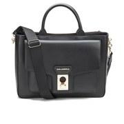 Karl Lagerfeld Women's K/Pin Closure Tote Bag - Black