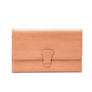 Aspinal of London Travel Wallet - Classic - Deer Brown