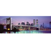 New York Skyline - 21 x 59 Inches Door Poster