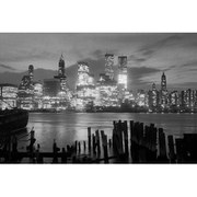 Manhattan Night - 24 x 36 Inches Maxi Poster