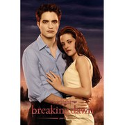Twilight Breaking Dawn Part 1 Edward and Bella - 24 x 36 Inches Maxi Poster