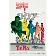 James Bond Dr No - 24 x 36 Inches Maxi Poster