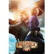 Bioshock Infinite Booker & Elizabeth - 24 x 36 Inches Maxi Poster