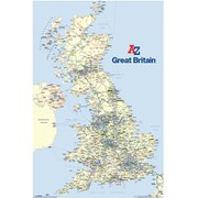 A-Z Great Britain - 24 x 36 Inches Maxi Poster