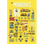 Despicable Me Infographic - 24 x 36 Inches Maxi Poster