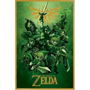 Nintendo The Legend Of Zelda Link - 24 x 36 Inches Maxi Poster