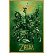 Nintendo The Legend Of Zelda Link - 24 x 36 Inches Maxi Poster