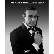 James Bond Connery - 16 x 20 Inches Mini Poster