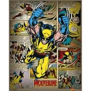 Marvel Comics Wolverine Retro - 16 x 20 Inches Mini Poster