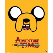 Adventure Time Jake - 16 x 20 Inches Mini Poster