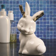 Jackalope Cotton Ball Holder