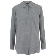 Theory Women's Simara Shirt - Heather Grey