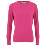Cocoa Cashmere Women's Cashmere Jumper - Dayglow Pink