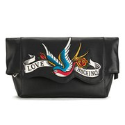 Love Moschino Women's Illustrated Clutch Bag - Black