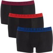 BOSS Hugo Boss Men's 3 Pack Trunk Boxer Shorts - Black