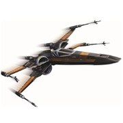 Hot Wheels Elite Star Wars The Force Awakens Poe's X-Wing Fighter Starship Vehicle