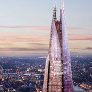 The View from The Shard with Champagne for Two
