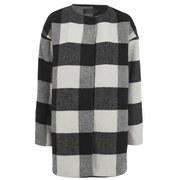 ONLY Womens Tessa Wool Coat - Black