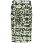 Great Plains Women's Emerald City Pencil Skirt - Rebel Green