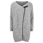 Great Plains Women's Boucle Buckle Detail Cardigan - Persian Grey
