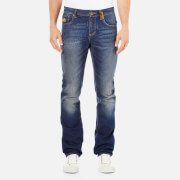 Superdry Men's Officer Denim Jeans - Monty Blue Light