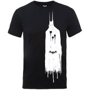 DC Comics Batman Arkham Knight Ghost Men's T-Shirt - Black