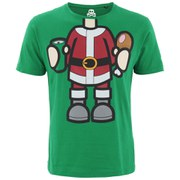 Xplicit Men's Bad Santa Christmas T-Shirt - Green